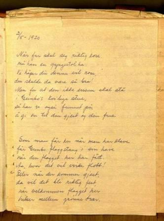 dikt till 60 års dag Photos: Brinchmann C B dikt på 60 års dagen 1920.: Zinow  dikt till 60 års dag
